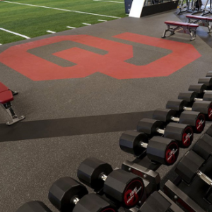 ou weight room